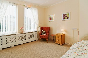 Penny Pot Care Home Bedroom